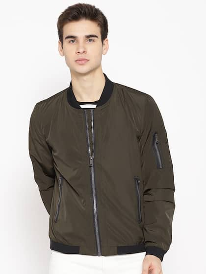 4fce2d6330f Jackets for Men - Shop for Mens Jacket Online in India | Myntra