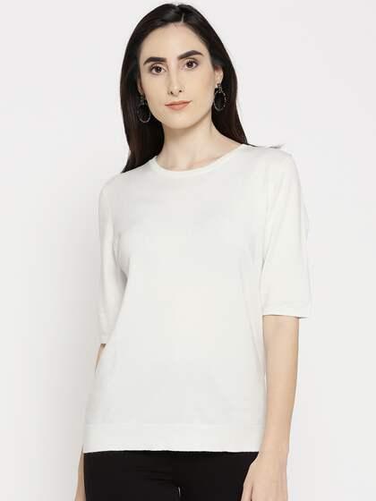76b5e3de1278f1 Sweaters for Women - Buy Womens Sweaters Online - Myntra