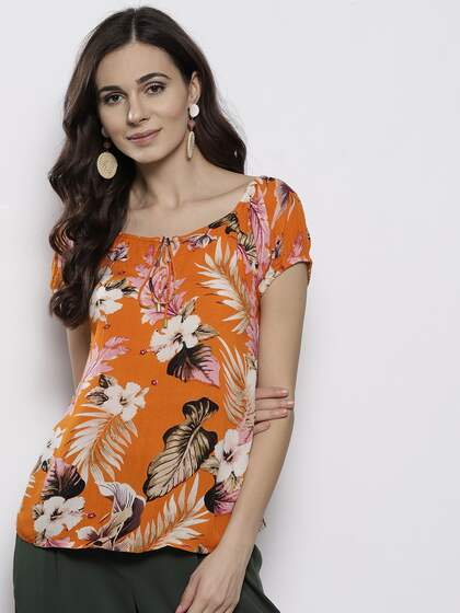 a42c17670 Ladies Tops - Buy Tops & T-shirts for Women Online | Myntra