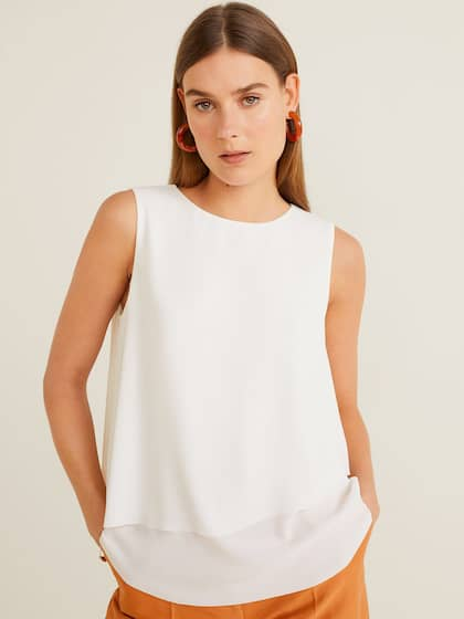 d7b07d5a66cc White Tops - Buy White Tops Online in India