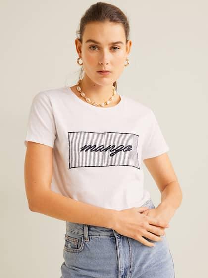 2da1397df7 T-Shirts for Women - Buy Stylish Women's T-Shirts Online | Myntra