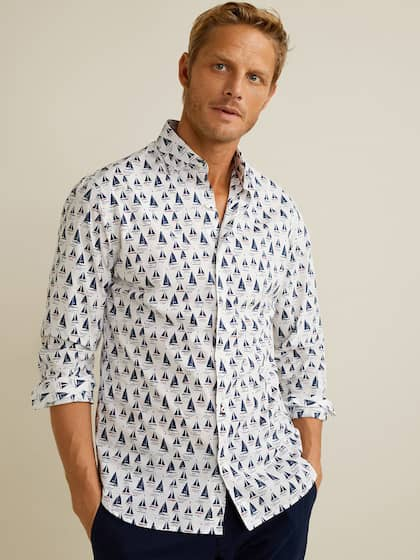660387887711e6 Mango Printed Shirts - Buy Mango Printed Shirts online in India