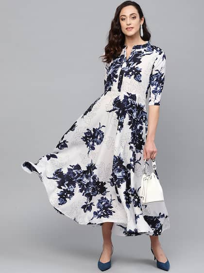 fc0782dea Long Dresses - Buy Maxi Dresses for Women Online in India - Upto 70% OFF