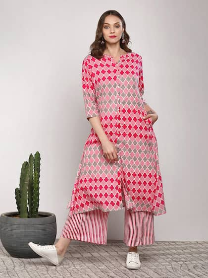 cf46a2a6aa Pink Salwar Suit | Buy Pink Salwar Suit online in India