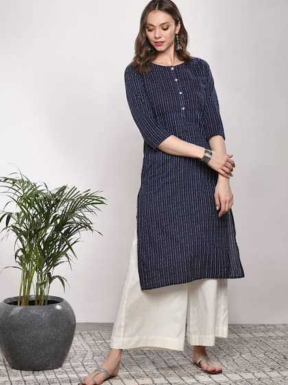 7b21f2585ee Kurtis Online - Buy Designer Kurtis   Suits for Women - Myntra