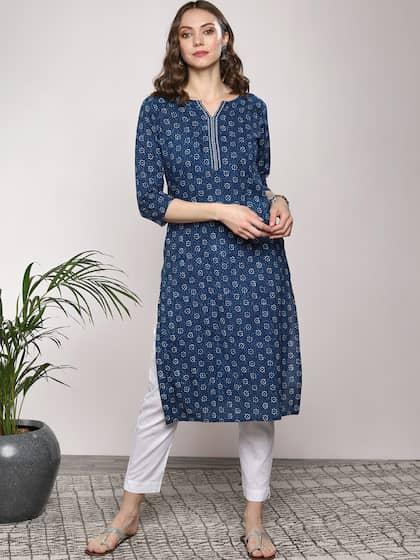 6d6b7644376 A Line Kurtas - Buy A Line Kurtas online in India
