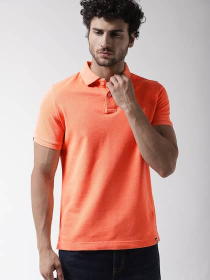 2b98ff1c4b4ae2 Collar T-shirts - Buy Collared T-shirts Online | Myntra