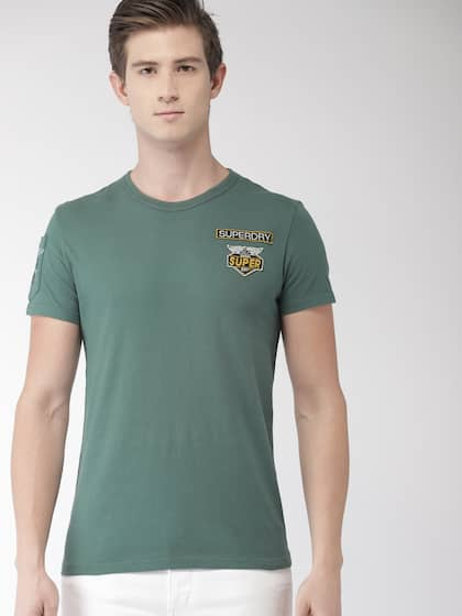 4217a875 Superdry T-shirts - Buy Superdry T-shirts Online in India | Myntra