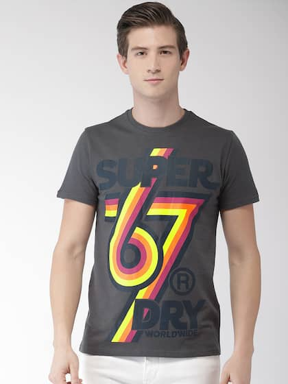 81b261ca Superdry T-shirts - Buy Superdry T-shirts Online in India | Myntra