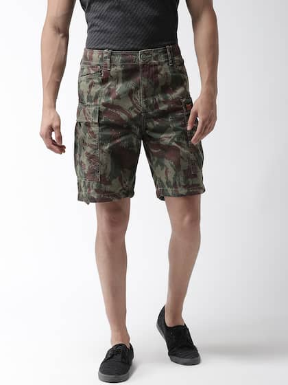 a293d00f59 Cargo Shorts - Buy Cargo Shorts for Men & Women online in India - Myntra
