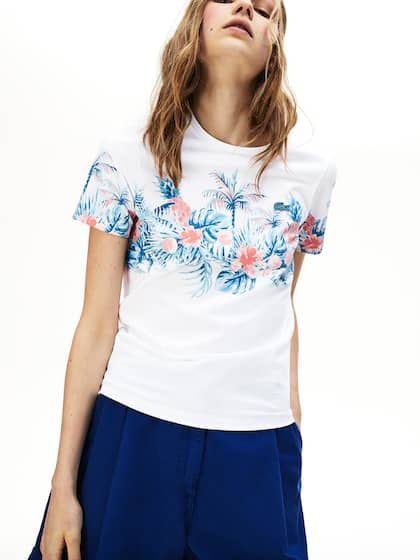 d866fe348b Lacoste T-Shirts - Buy T Shirt from Lacoste Online Store | Myntra