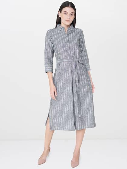 12a066973a6 Linen Cotton Dresses - Buy Linen Cotton Dresses online in India