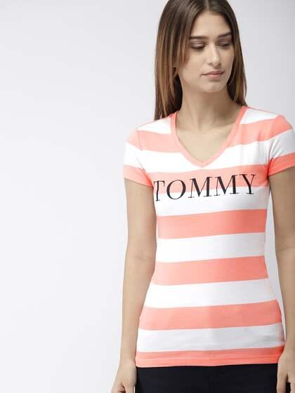 47290b541bea Tommy Hilfiger Tshirts - Buy Tommy Hilfiger Tshirts Online | Myntra