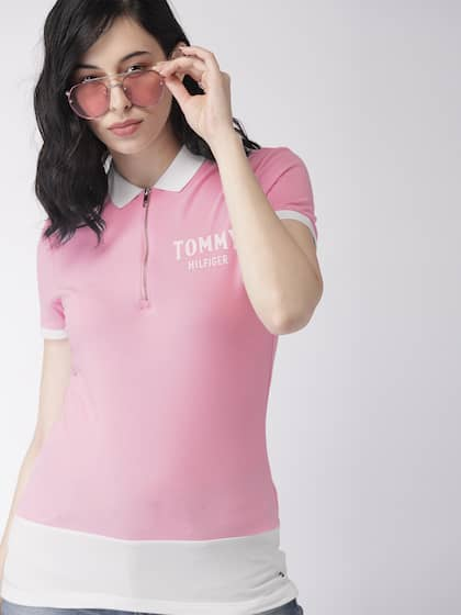 a73eb6cb4b8f6 Tommy Hilfiger Tshirts - Buy Tommy Hilfiger Tshirts Online   Myntra