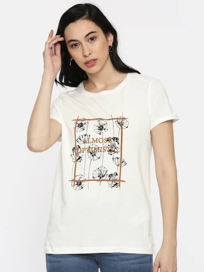 0a39f428bd6 Women Tshirt - Buy Women Tshirt online in India