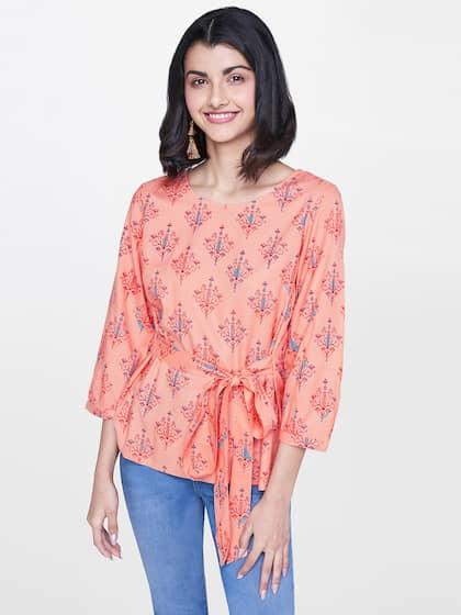 af64ad89be72 Tops - Buy Designer Tops for Girls & Women Online   Myntra