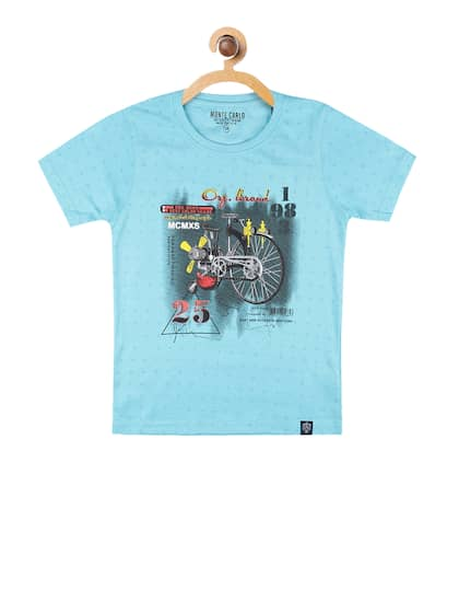 5138c8a67f56 Boys T shirts - Buy T shirts for Boys online in India