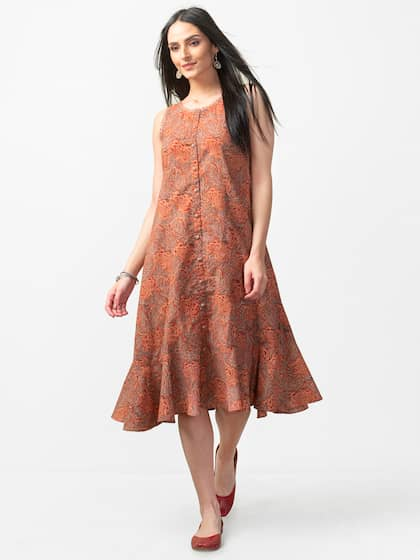 0f6834087f Fabindia Cotton Dresses - Buy Fabindia Cotton Dresses online in India