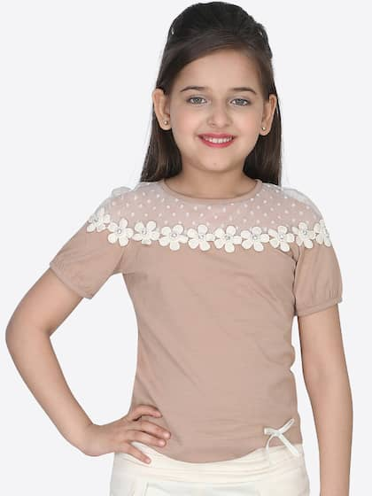 17a973270c163f Girls Tops - Buy Stylish Top for Girls Online in India | Myntra
