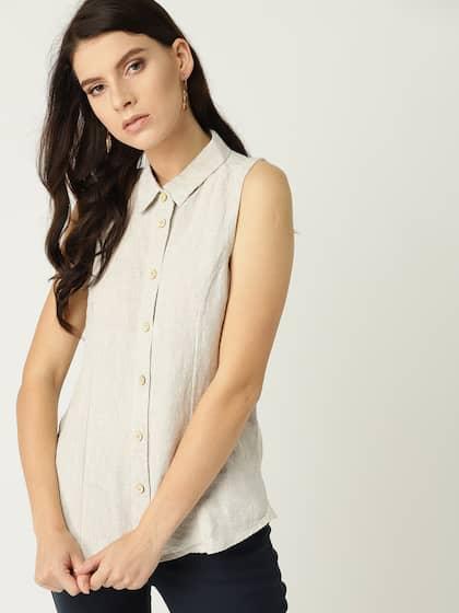 142cd8607 Linen Shirts For Women - Buy Linen Shirts For Women online in India