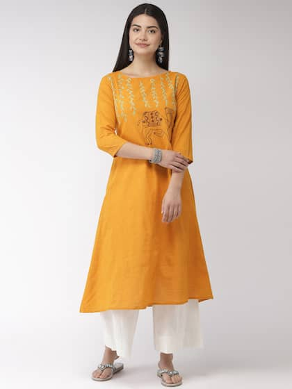 c820e40acc Mirror Work Kurtas - Buy Mirror Work Kurtas online in India