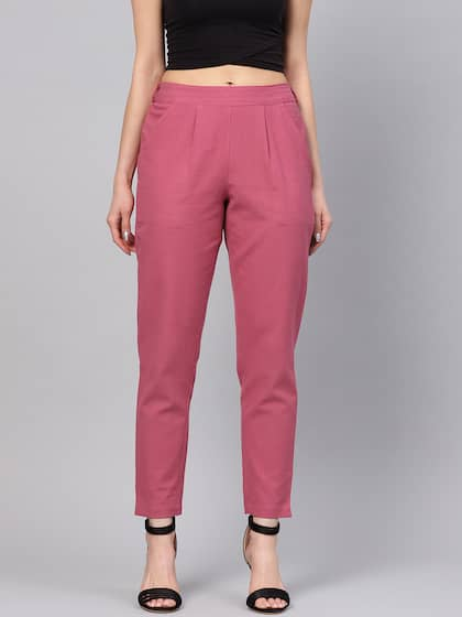 0525378d6 Women's Trousers - Shop Online for Ladies Pants & Trousers in India ...