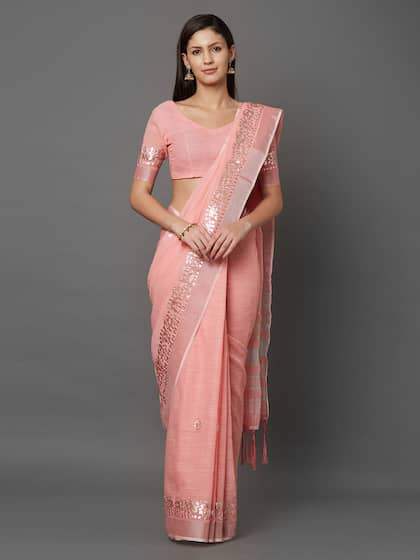 4fdef384f9 Cotton Silk Saree - Buy Cotton Silk Sarees Online | Myntra