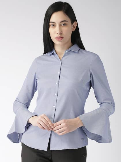 7b21a703917f20 Women Shirts - Buy Shirts for Women Online in India | Myntra