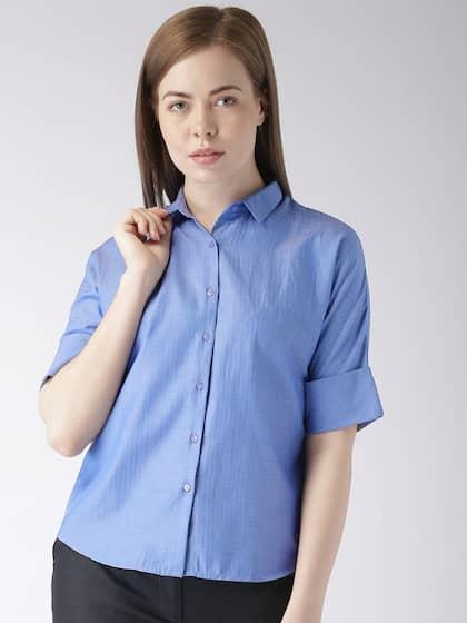 757076398 Women Shirts - Buy Shirts for Women Online in India | Myntra