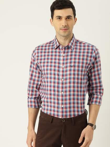 c7f2988b46c572 Men Check Shirts - Buy Men Check Shirts online in India