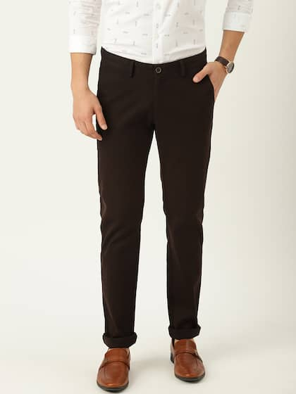 e9e364990665ad Brown Trousers | Buy Brown Trousers Online in India at Best Price