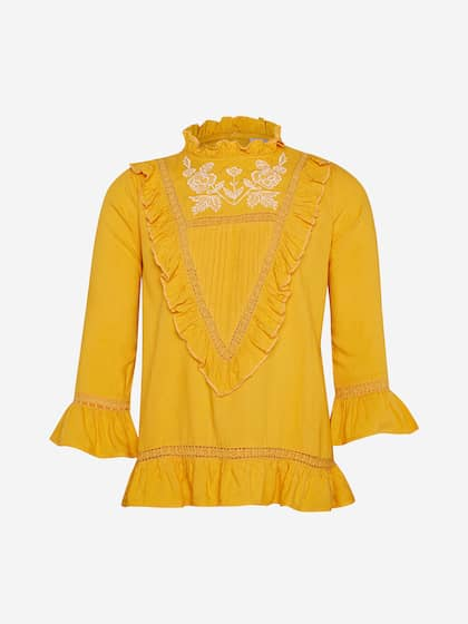 0072158bc1 Girls Tops - Buy Stylish Top for Girls Online in India   Myntra