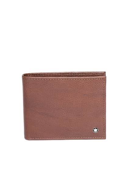 Louis Philippe. Men Solid Two Fold Wallet