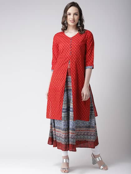 c3a47ee677 Layered Kurtas - Buy Layered Kurtas online in India