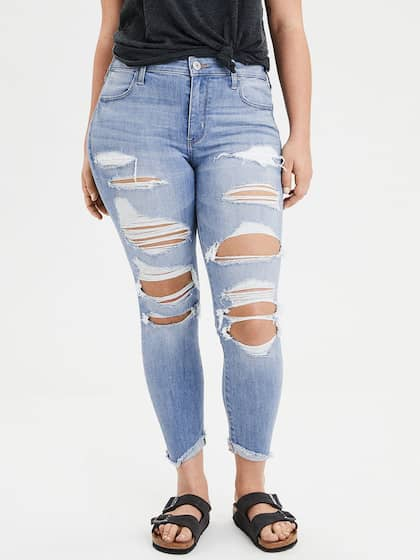 90f4f13d69 Ripped Jeans - Shop for Ripped Jeans Online in India | Myntra