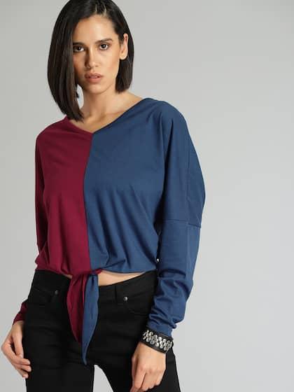 4278ffa06344 Cotton Tops - Buy Stylish Cotton Tops Online | Myntra