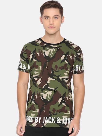 42f2878e Military Tshirts - Buy Military Tshirt Online in India   Myntra