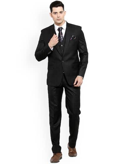 fc7bc8416a Suits for Men - Buy Men Suit & Blazer Online | Myntra