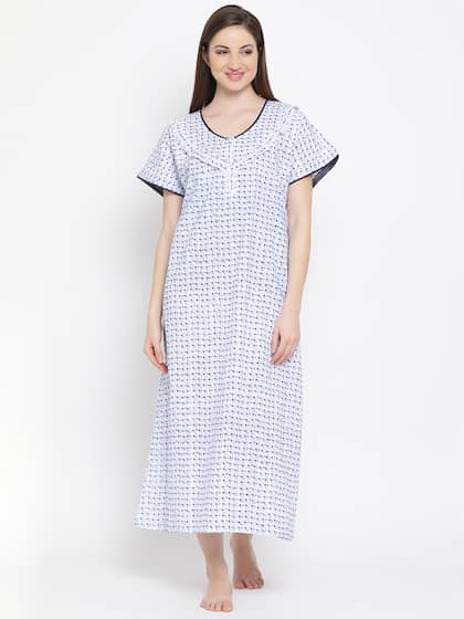 ba1c086c08 Cotton Nightdresses - Buy Cotton Nightdresses Online in India | Myntra