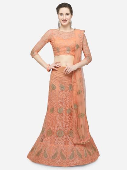 5f7bc1576c Bridal Lehenga - Shop Online for wedding Lehengas at Best Price | Myntra