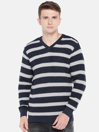 5081abc1e77 Sweaters for Men - Buy Mens Sweaters, Woollen Sweaters Online - Myntra
