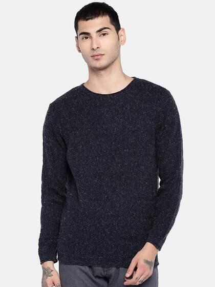a2abb18a Sweaters for Men - Buy Mens Sweaters, Woollen Sweaters Online - Myntra