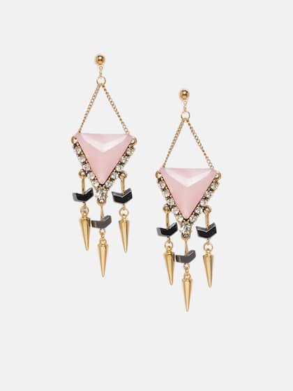 76394ec3328ae5 Pink Earrings - Buy Pink Earrings Online in India