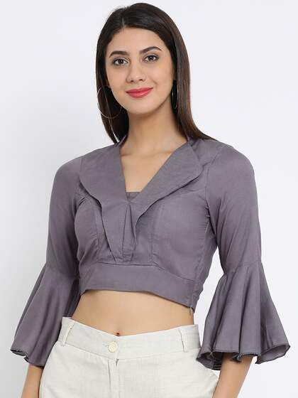 0d590454237b Crop Tops - Buy Midriff Crop Tops Online for Women in India