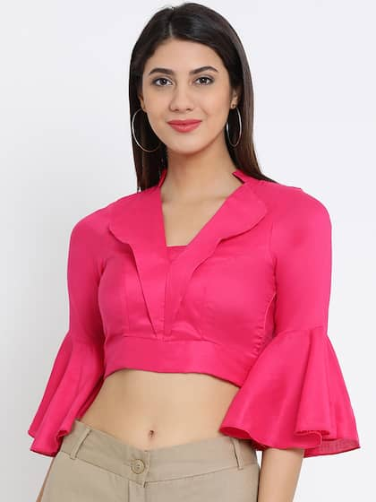 9f17ad41e80 Crop Tops - Buy Midriff Crop Tops Online for Women in India