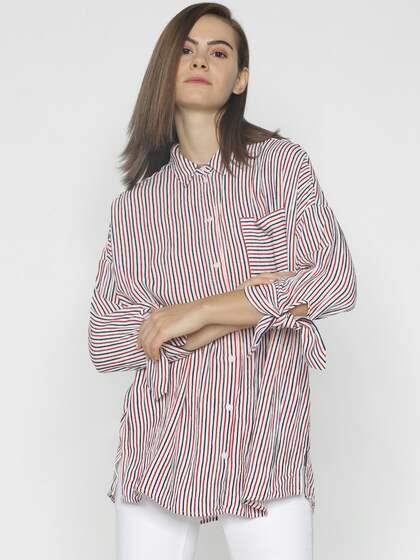 959462ea Women Shirts - Buy Shirts for Women Online in India | Myntra