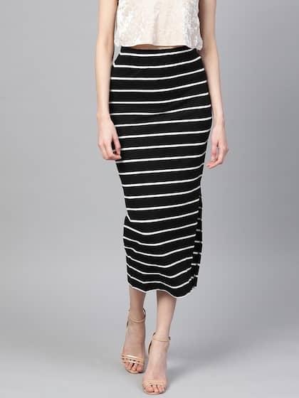 4841d41ee3044 Skirts for Women - Buy Short, Mini & Long Skirts Online - Myntra