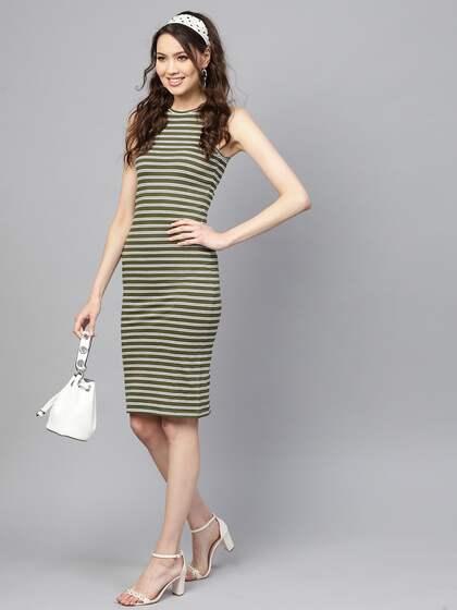 ac80f26775de Bodycon Dress - Buy Stylish Bodycon Dresses Online | Myntra