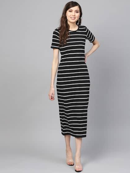 8ec988b545dd Midi Dresses - Buy Midi Dress for Women & Girl Online | Myntra