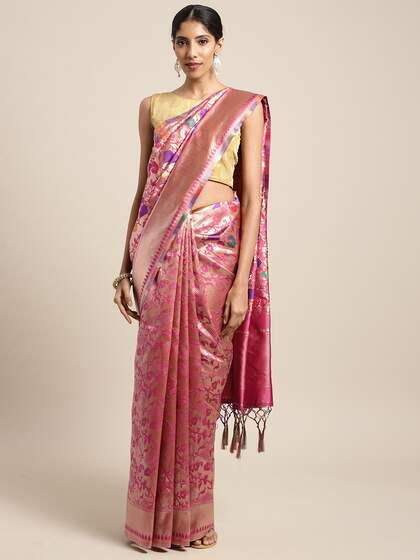 2831d57f73 Bridal Saree - Buy Designer Bridal Sari Online   Myntra